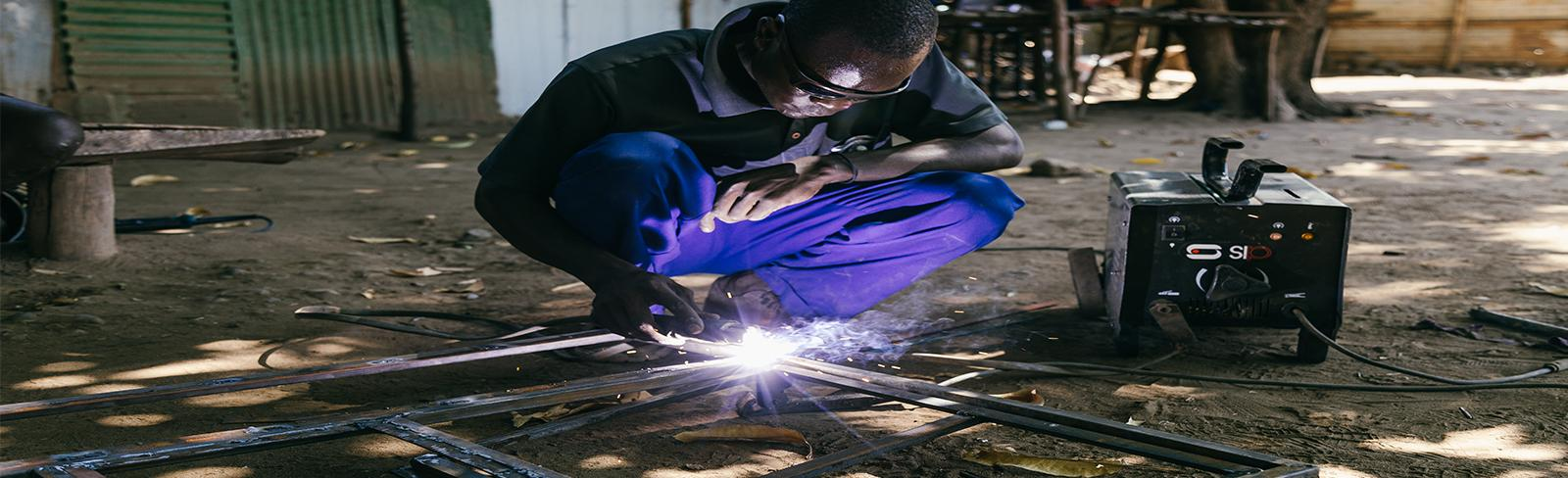 Welder, Man, Kenya