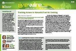 Tracking Access to Nonsolid Fuel for Cooking