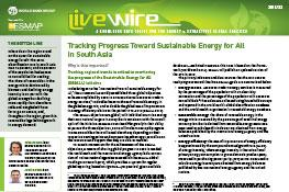 Tracking Progress Toward Sustainable Energy for All in South Asia